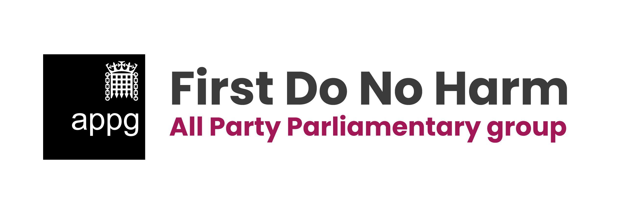 APPG- First Do No Harm